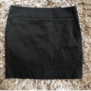 Ann Taylor Black Mini Skirt